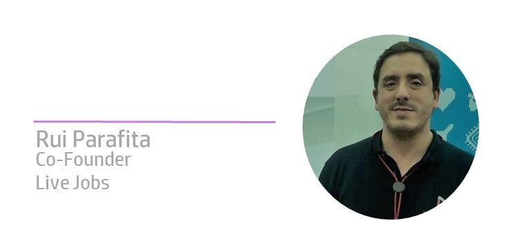 Rui Parafita na comunicaRH