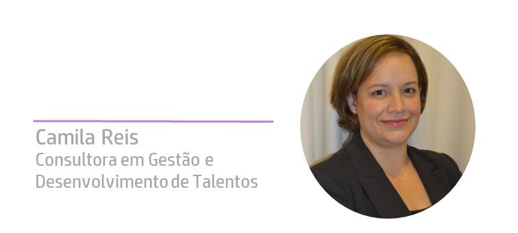 Camila Reis na comunicaRH