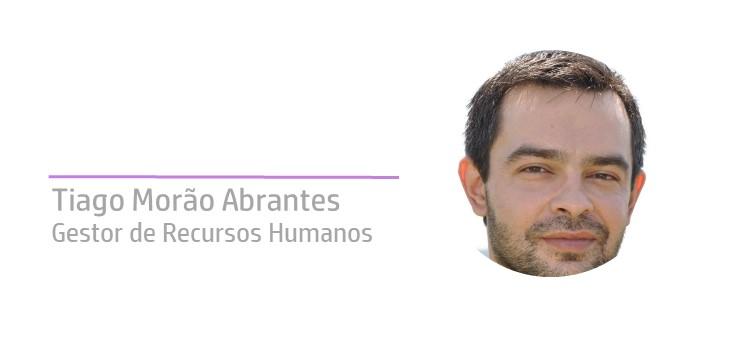 Tiago Abrantes na comunica recursos humanos