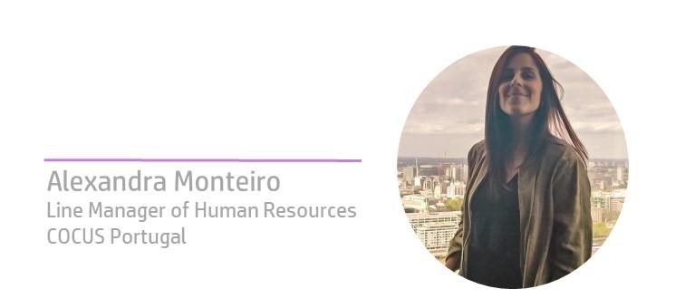 Alexandra Monteiro na comunica RH