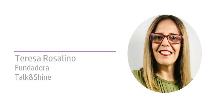 Teresa Rosalino na comunciaRH